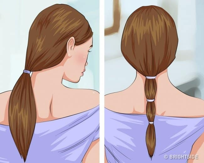 how to get straight and silky hair naturally