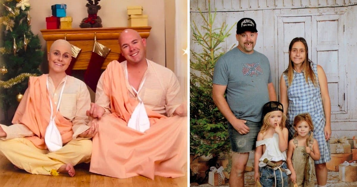 Family Comes Up With The Most Awkward Yet Truly Hilarious Christmas Cards Ideas Every Year