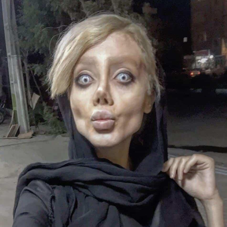 Iranian Teen Jolie >> Iranian Teen Who Underwent '50 Surgeries' To Look Like Angelina Jolie Has Spoken the Truth
