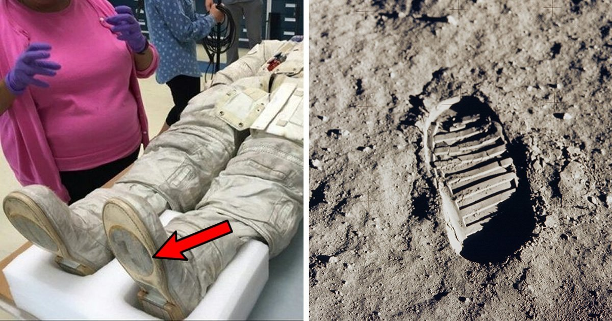 Photo Of Neil Armstrong's Spacesuit Doesn't Match ...