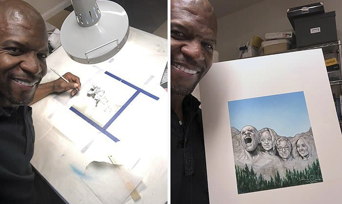 Apparently Hollywood Actor Terry Crews Is An Illustrator
